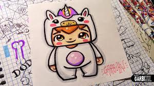 unicorn boy how to draw chibi and kawaii characters by garbi kw