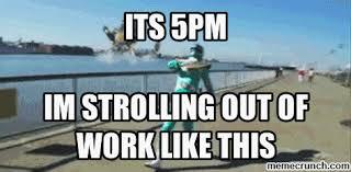 Leaving Work Meme - work