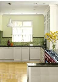 green subway tile kitchen backsplash green kitchen tiles cullmandc