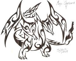 coloring pages charizard coloring pages for ideas mega charizard