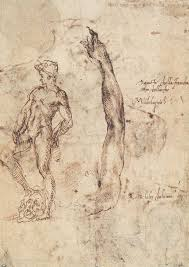 epph michelangelo u0027s study for a bronze david c 1502 03