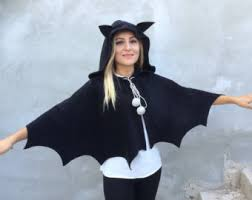 Hooded Halloween Costumes Hooded Cape Etsy