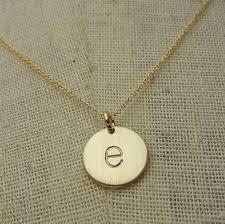 gold letter necklace pendants images Best 25 initial charm necklaces ideas initial jpg