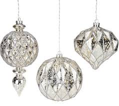 kringle express set of 3 lit indoor outdoor shatterproof ornaments