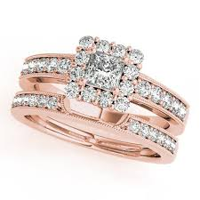 square style rings images Square princess cut diamond engagement ring in 14k rose gold vs h jpg