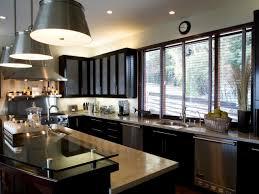 White Kitchen Cabinets With Black Appliances Car Tuning by Black Kitchen Cabinets With Red Island On Kitchen Design Ideas
