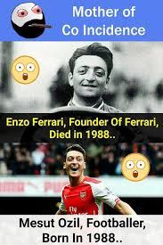 Ozil Meme - dopl3r com memes mother of co incidence enzo ferrari founder of
