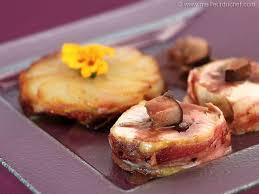 cuisiner un poulet de bresse roulade de poulet de bresse aux cèpes la recette avec photos