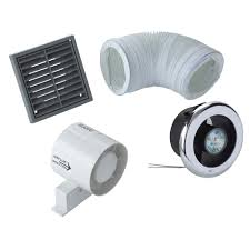 manrose vdisl100s shower light bathroom extractor fan kit d 98mm