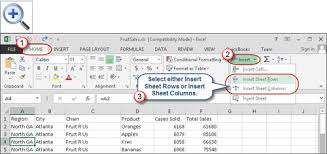 quick tips for inserting excel rows and columns accountingweb
