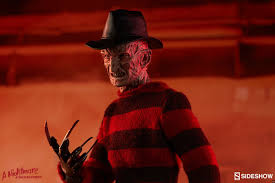 freddy krueger sweater spirit halloween sideshow u0027s limited edition freddy krueger figure revealed in image
