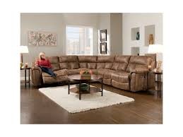 Sofas That Recline Franklin Stallion Sectional Sofa With 5 Seats 4 That Recline