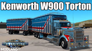 kenworth trailers kenworth w900 torton v1 new mod for ets 2