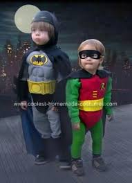Infant Robin Halloween Costume Batman Robin Caped Baby Coverall Mommy Cat Woman