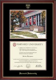 harvard diploma frame harvard cus edition diploma frame in