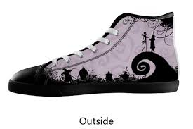 halloween sneakers jack skellington nightmare before christmas custom canvas
