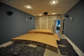 home theater risers home theatre riser plans home design and style