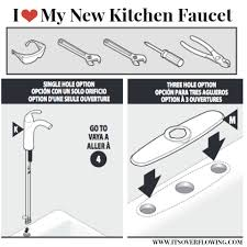 how to install a faucet in the kitchen replacing my kitchen faucet its overflowing