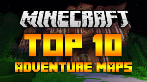 Adventure Map Top 10 Minecraft Adventure Maps Minecraft 1 12 1 11 2 2017 Hd