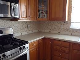 kitchen backsplash wallpaper travertine stone tile kitchen backsplash in light brown color