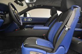 rolls royce blue interior 2017 rolls royce wraith black badge stock r425 for sale near