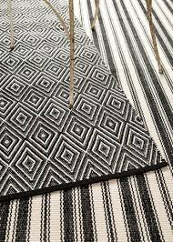 Black And White Rugs Brilliant Black And White Striped Outdoor Rug Patio Stripe