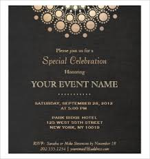 Formal Invitation Template formal invitations templates free downloadable invitation templates