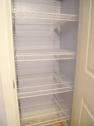 Rubbermaid Closet Organizer Parts Wire Closet Shelving Design Ideas How To Install A Diy Wire