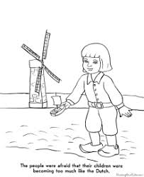 pilgrims coloring pages thanksgiving