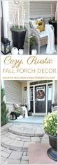 How To Decorate Your Home For Fall Cozy Rustic Fall Porch Decor Setting For Four