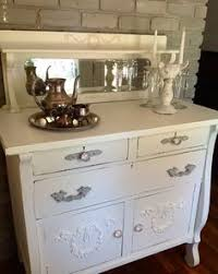 Antique White Buffet Server by Antique Buffet Spraypainted Barnboard By Benjamin Moore My