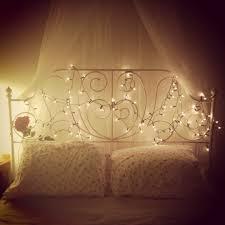 childrens bedroom fairy lights bed bedroom princess ikea fairylights bedroom pinterest