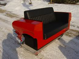 Deco Vintage Americaine Original Car Furniture Made From Original Cars Ford Mustang 1965