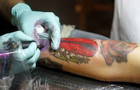 hampton roads tattoo festival kicks off with lots of ink fun
