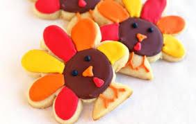 turkey sugar cookies 11 sweet treats for thanksgiving parentmap