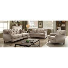 Beige Fabric Sofa Acme United Sofas U0026 Loveseats With Free Shipping Sears