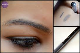 light grey eyebrow pencil maybelline fashion brow duo shaper brown grey review swatches