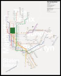 Second Ave Subway Map by Check Out This Minimalist New York City Transit Map By Peter Dovak