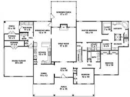 bedroom 3 bath one story house plans rustic bedroom bath one