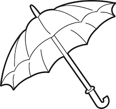 umbrella color sheet free coloring pages on art coloring pages