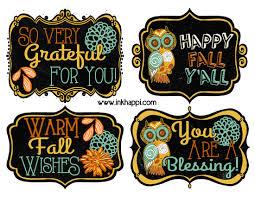 fall printable gift tags to show your gratitude gratitude ideas