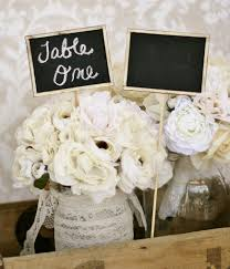 diy shabby chic wedding decor decorating of party