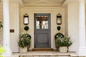 cool front doors decorations cool front door country style with flower plant idea