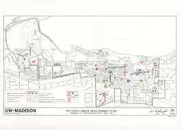 University Of Wisconsin Madison Map by Historic