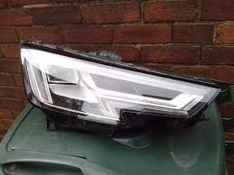 audi a4 headlights genuine audi a4 b9 8w drivers offside xenon led headlight headlamp