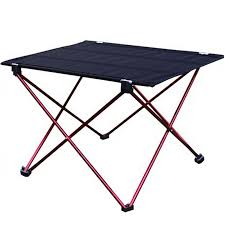 lightweight folding table and chairs 1pc outdoor folding table ultra light aluminum alloy structure