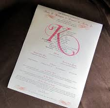 scroll wedding programs scrapping innovations and terrance votive candle place