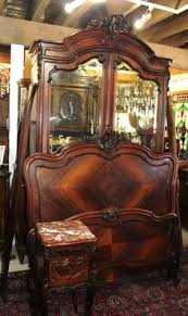 French Antique Bedroom Furniture by 3pc Walnut Louis Xv Bedroom Set 19th Century Bedrooms Houtroos