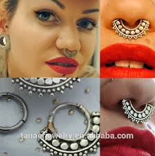 all nose rings images New all rainbow plated piercing noses clip on nose ring india fake jpg