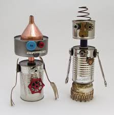 recycle craft for kids robotic tin can ideas arts and crafts